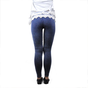 Denim Distressed Leggings - LoveEmme, Product_Type, Product_Vendor
