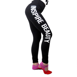 Inspire Beauty Yoga Pants - LoveEmme, Product_Type, Product_Vendor