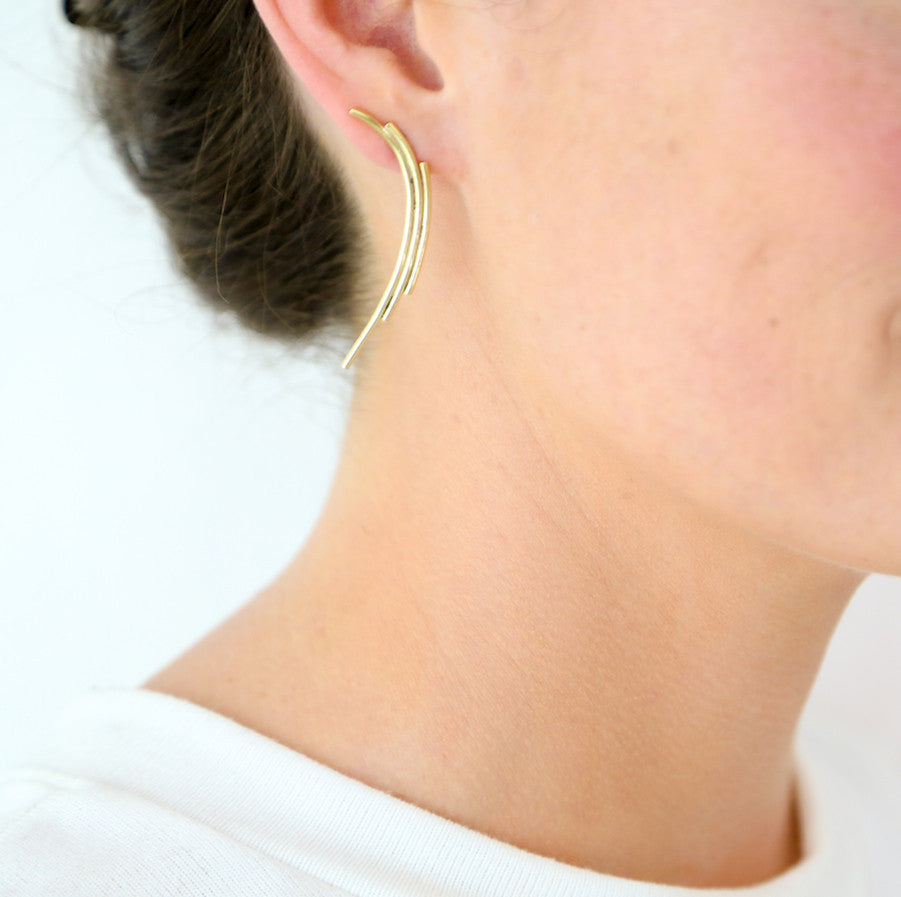 Nisha Climber Earrings - LoveEmme, Product_Type, Product_Vendor
