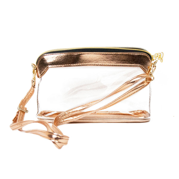 Metallic Stadium Purse