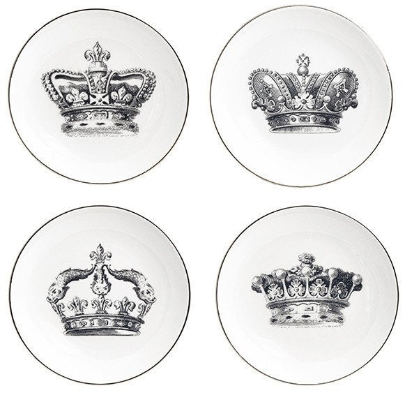 Royalty Appetizer Plates - LoveEmme, Product_Type, Product_Vendor