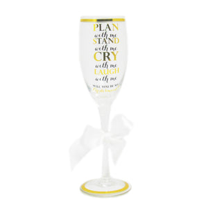 Plan With Me Champagne Flute - LoveEmme, Product_Type, Product_Vendor