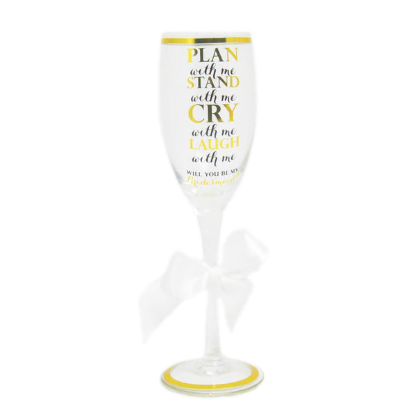 """Plan With Me"" Champagne Flute - LoveEmme, Product_Type, Product_Vendor"