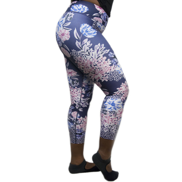 Pink Garden Leggings