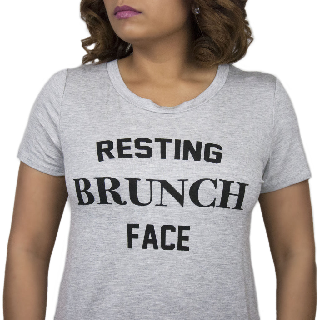 """Resting Brunch Face"" Tee"