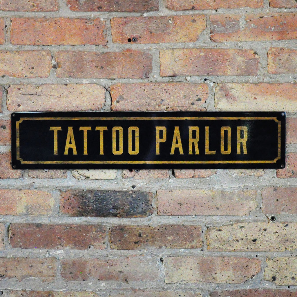 """Tattoo Parlor"" Wall Sign - LoveEmme, Product_Type, Product_Vendor"