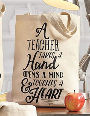 All Praise Teacher Tote Bag - LoveEmme, Product_Type, Product_Vendor