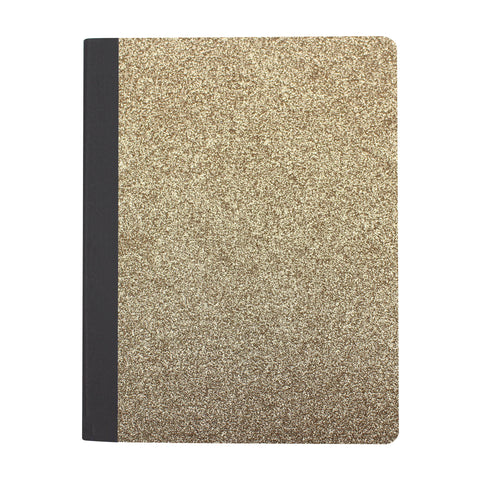 Glitter Composition Notebook