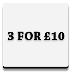 3 for £10 button