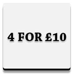 4 for £10 button