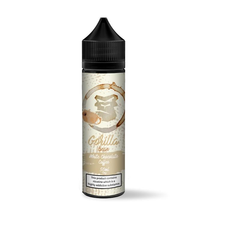 Gorilla Bean 50ml - Short-Fill - White Chocolate Coffee