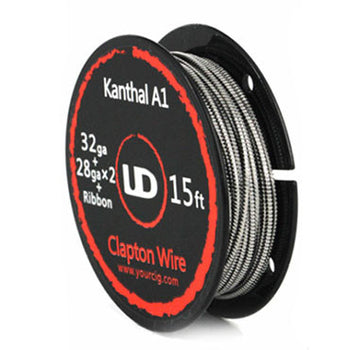 UD Clapton Parallel Wire 28Ga x 2 + Ribbon + 32Ga wrapped  - 5m