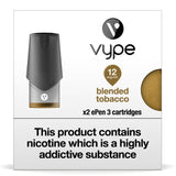 Vype ePen 3 Pods - Blended Tobacco - Pack of 2