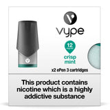 Vype ePen 3 Pods - Crisp Mint - Pack of 2