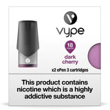 Vype ePen 3 Pods - Dark Cherry - Pack of 2