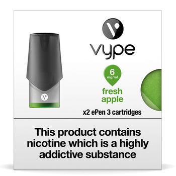 Vype ePen 3 Pods - Fresh Apple - Pack of 2