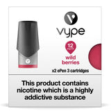 Vype ePen 3 Pods - Wild Berries - Pack of 2