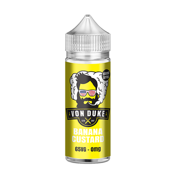 Von Duke - Banana Custard - 100ml