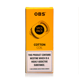 OBS M1 Mesh Cotton Coils £4 per coil or 5 Pack for £14.99