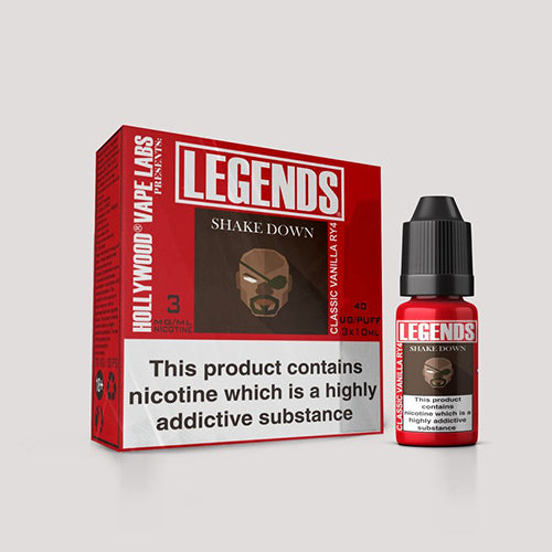 Shake Down – LEGENDS™ Classic Vanilla RY4 3 x 10ml
