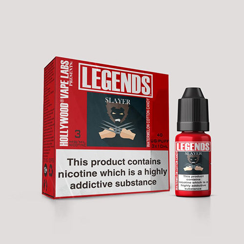 LEGENDS™ - Slayer Watermellon Cotton Candy 3 x 10ml