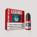 LEGENDS™ - Stars and Stripes Berrylicious Bubble Gum 3 x 10ml