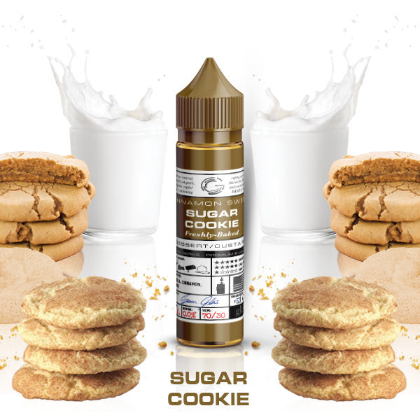 Glas Basix: Sugar Cookie - 50ml Short Fill