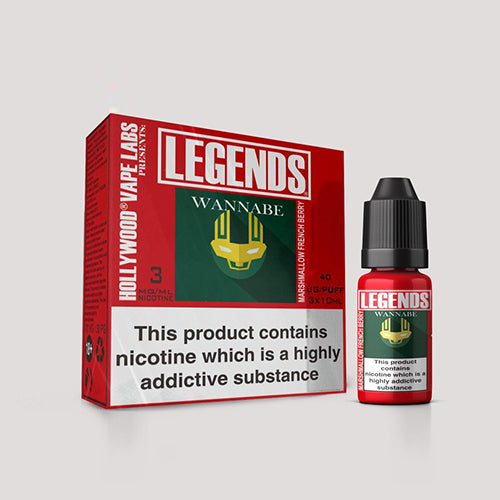 LEGENDS™ - Wannabe Marshmallow French Berry 3 x 10ml