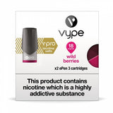 Vype ePen 3 Pods - Nic Salt Wild Berries - Pack of 2
