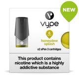 Vype ePen 3 Pods - Honeydew Splash - Pack of 2