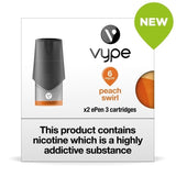 Vype ePen 3 Pods - Peach Swirl - Pack of 2