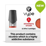 Vype ePen 3 Pods - Strawberry Smash - Pack of 2