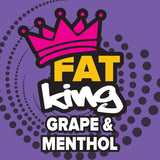 Fat King: Grape & Menthol - 50ml Short Fill