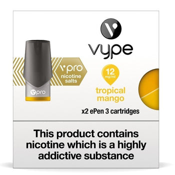 Vype ePen 3 Pods - Nic Salt Tropical Mango - Pack of 2