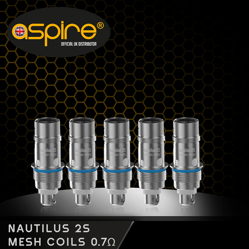 Aspire Nautilus BVC Mesh Coil £3.50 per coil or 5 for £12