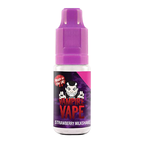 Vampire Vape: Strawberry Milkshake - 10ml