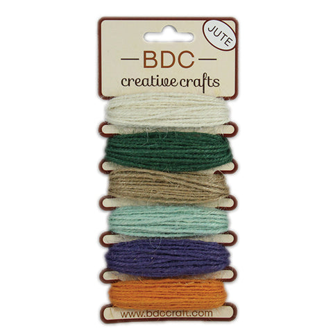 Jute String 6 colors x 5 meters - Primrose