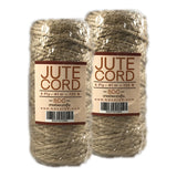Jute Cord 4 ply 135ft - 2 Pack