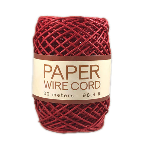 Paper Wire Cord - Red