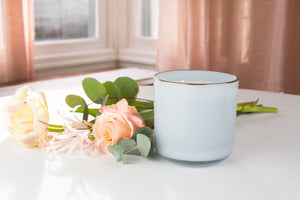 Sterling Spearmint Eucalyptus Double Wick Candle