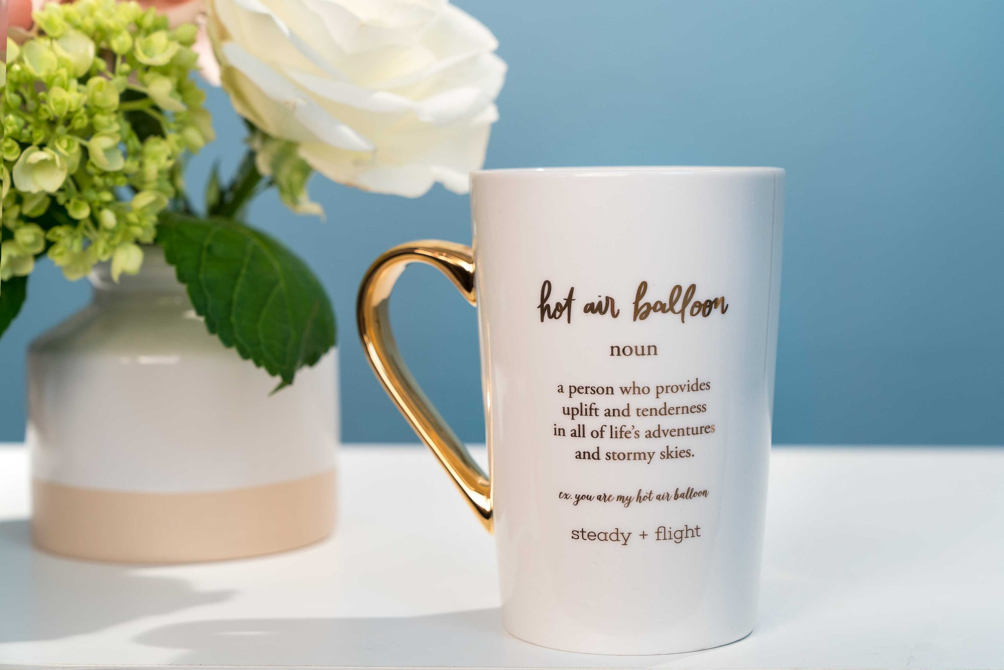 Hot Air Balloon Friendship Mug