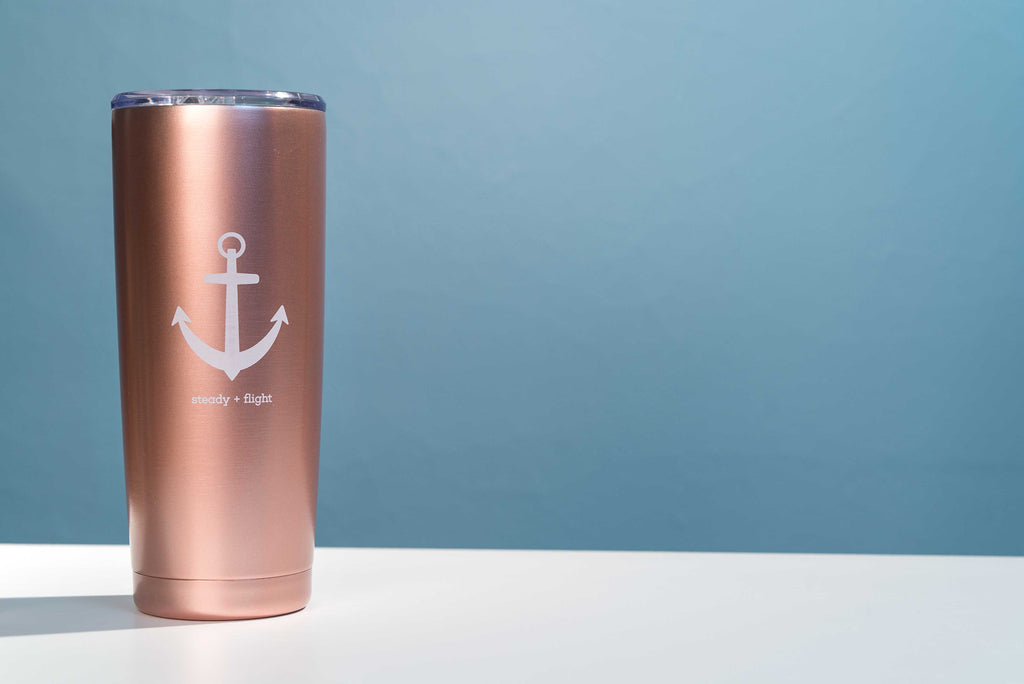 Blemished Anchor Travel Mug