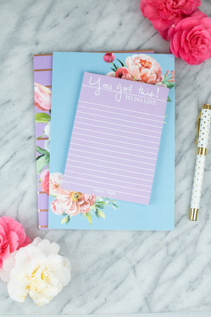 You Got This To Do List Notepad