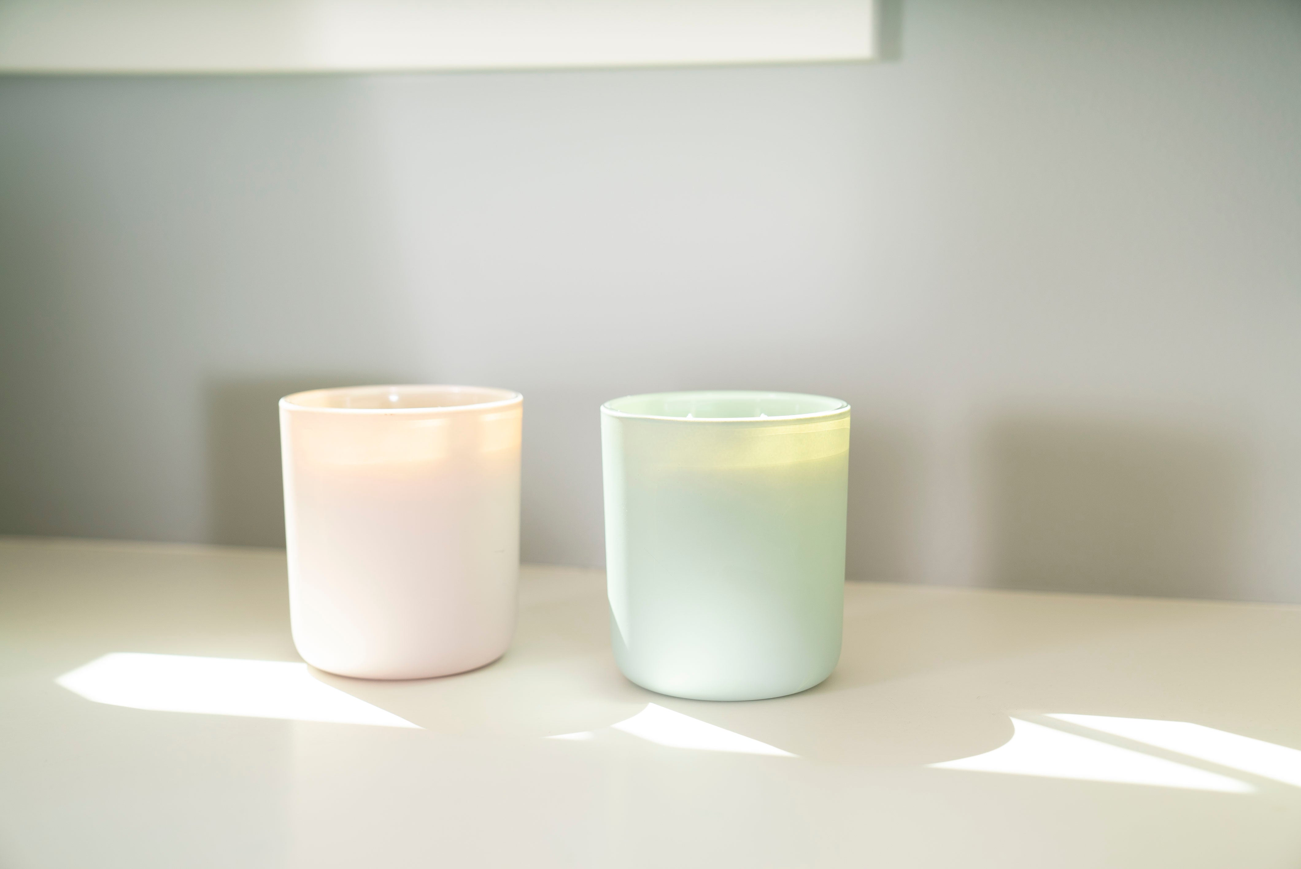 Blush Double Wick Candle