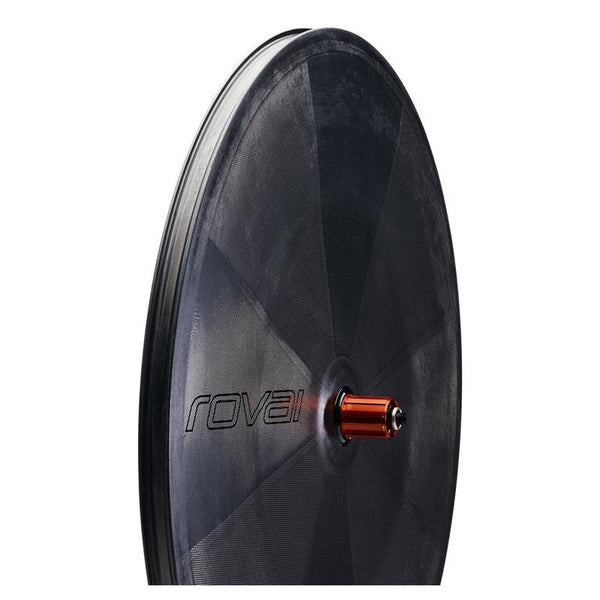 Product shot of Roval 321 Disc from angle