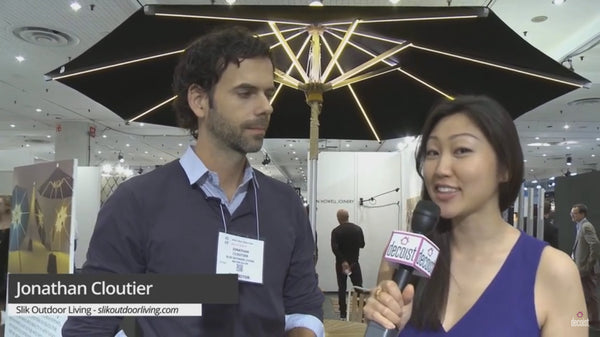 The NI Parasol Explained at ICFF New York 2015
