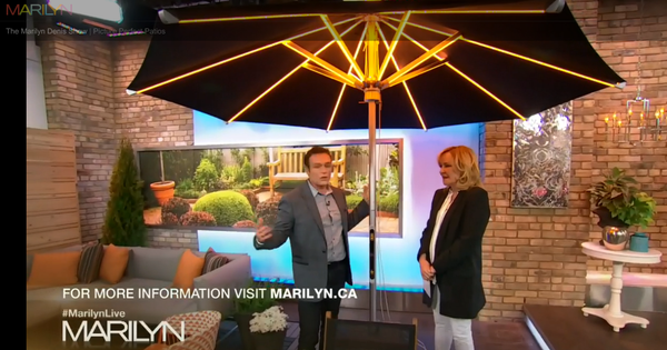 NI Parasol Featured on The Marilyn Denis Show