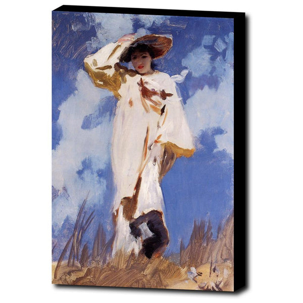 Premium Canvas Gallery Wrap - A Gust Of Wind By John Singer Sargent