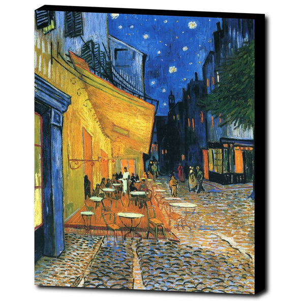 Premium Canvas Gallery Wrap - Cafe Terrace, Place Du Forum, Arles By Vincent Van Gogh