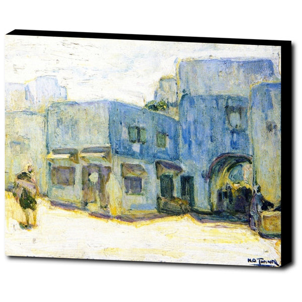 Premium Canvas Gallery Wrap - Sunlight, Tangier By Henry Ossawa Tanner